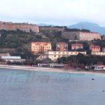 Ghiaie Beach Portoferraio and Fort  Falcone