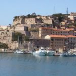 Molo Gallo and Walls the Fort Falcone  Portoferraio