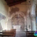 Interior of the Church of San Nicolo - Piazza Belvedere in San Piero