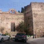 Pisan fortress - Belvedere square in San Piero