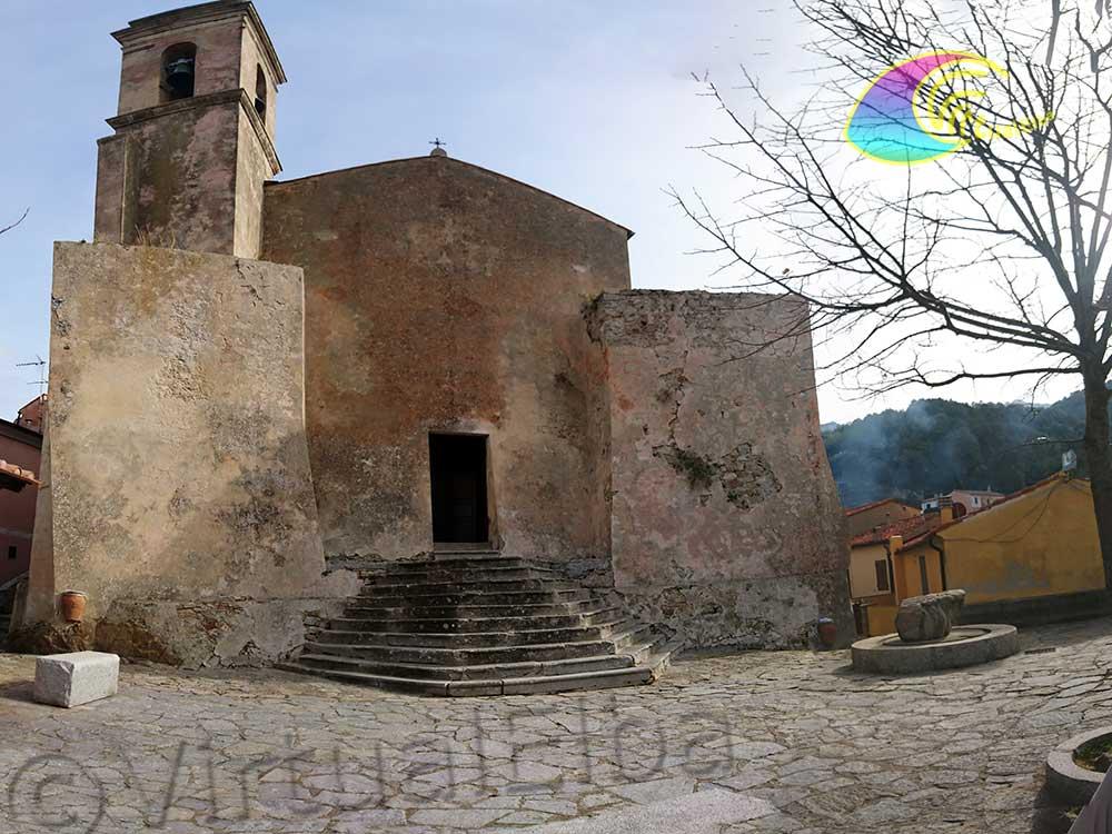 Church of San Niccolò a Poggio and the small square