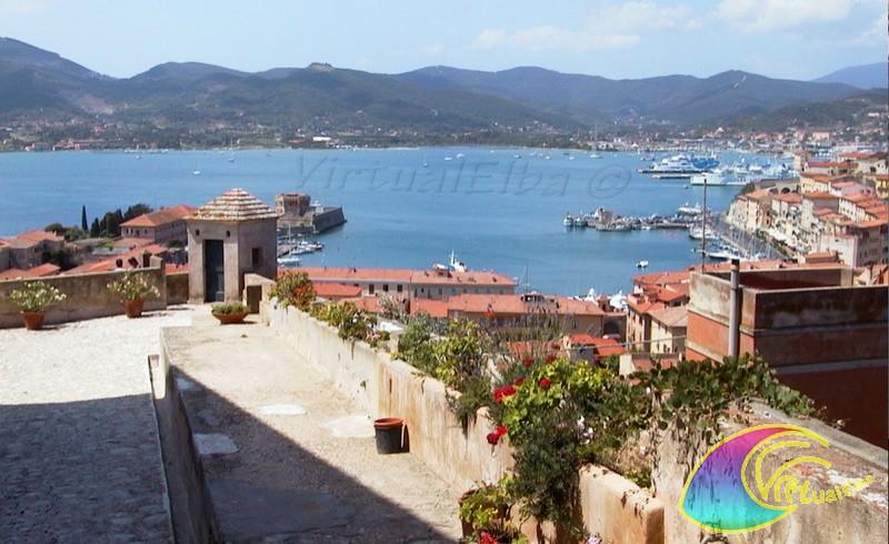 Portoferraio seen from Fortress  Stella