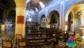 La chiesa a tre navate del Paese