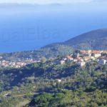 San Piero and Marina di Campo in the distance