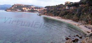 Cala dei Frati beach Portoferraio