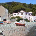 The beach of Bagno ex Tonnara