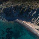 Tombe beach Pomonte