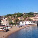 Porto Azzurro beach the Rossa