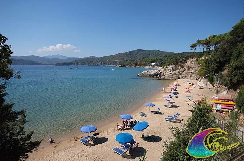 Calanchiole beach