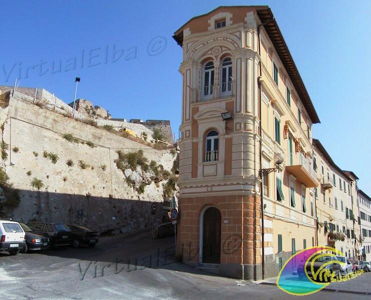 Street and Walls of Portoferraio