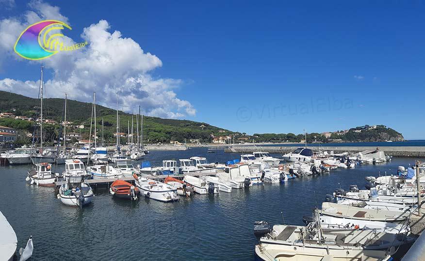 Riparo imbarcazioni Porto turistico Cavo Elba