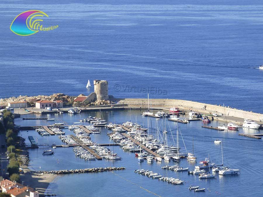 The tourist port of Marciana Marina