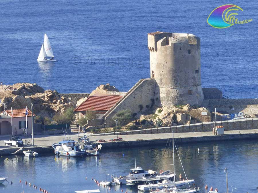Marciana Marina Tower, also called Torre del Porto or Torre degli Appiani