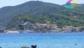 Il paese di Marina di Campo visto dalla parte estrema della spiaggia (La Foce)